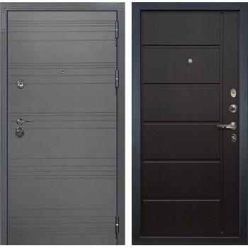 Входная металлическая дверь Лекс Сенатор 3К Софт графит (№41 Венге)