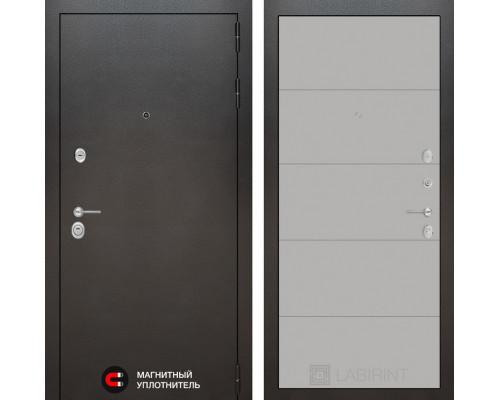 Входная дверь Labirint SILVER 13 - Грей софт