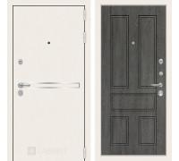 Входная дверь Labirint Лайн WHITE 10 Дуб филадельфия графит