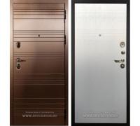 Входная металлическая дверь Лекс Легион (Бронза / Дуб фактурный кремовый)