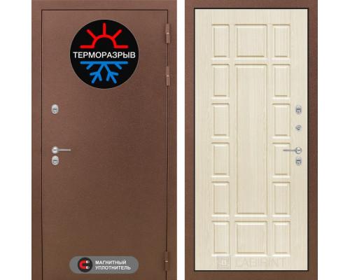 Входная дверь с терморазрывом Labirint с терморазрывом Термо Магнит 12 Беленый дуб (уличная дверь с терморазрывом)