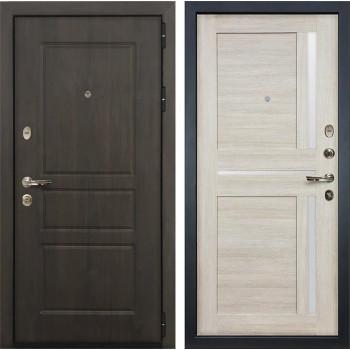 Входная стальная дверь Лекс Сенатор Винорит Баджио Ясень кремовый (панель №49)