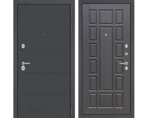 Входная дверь ART графит 12 Венге