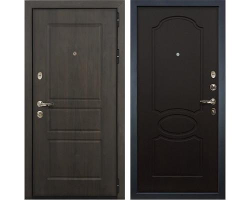 Входная стальная дверь Лекс Сенатор Винорит Венге (панель №13)