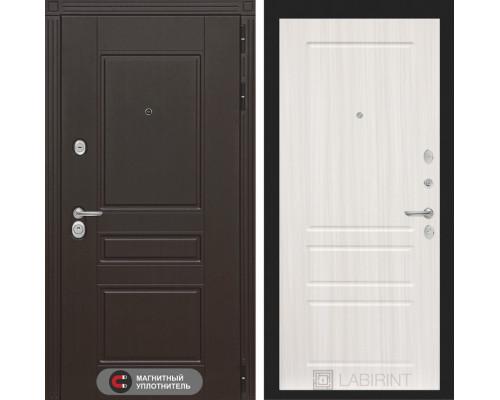 Входная дверь Labirint Мегаполис 03 - Сандал белый