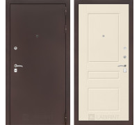 Входная дверь Labirint CLASSIC антик медный 03 Крем софт
