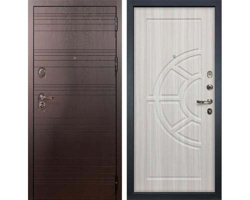 Входная металлическая дверь Лекс Легион Сандал белый (панель №44)
