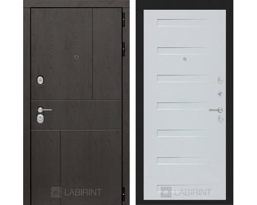 Входная дверь Labirint URBAN 14 Дуб кантри белый горизонтальный