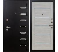 Входная металлическая дверь Лекс Витязь Клеопатра-2 Ясень кремовый (панель №66)