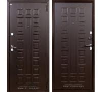 Входная металлическая дверь Лекс Гладиатор Нео 2К Венге