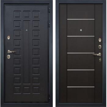 Входная металлическая дверь Лекс Гладиатор 3К Молдинг Венге (панель №24)