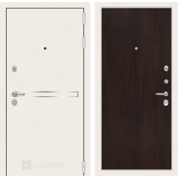 Входная дверь Labirint Лайн WHITE 05 Венге