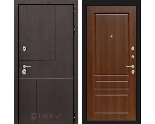 Входная дверь Labirint URBAN 03 - Орех бренди