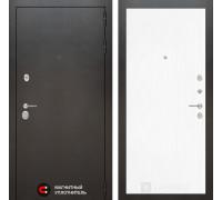 Входная дверь Labirint Сильвер 07 - Белое дерево