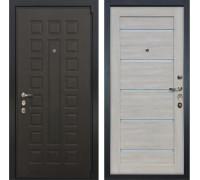 Входная металлическая дверь Лекс 4А Неаполь Mottura Клеопатра-2 Ясень кремовый (панель №66)