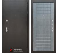 Входная дверь Labirint Сильвер 09 - Лен сильвер грей