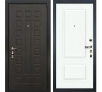 Входная металлическая дверь Лекс 4А Неаполь Mottura Вероника-1 Эмаль Белая (панель №55)