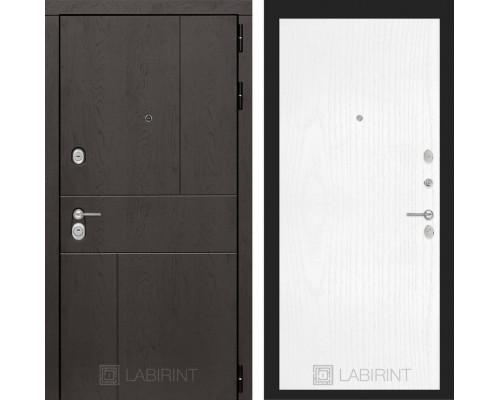 Входная дверь Labirint URBAN 07 Белое дерево
