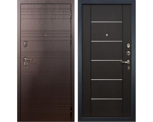 Входная металлическая дверь Лекс Легион Молдинг Венге (панель №24)