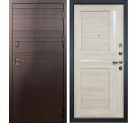 Входная металлическая дверь Лекс Легион Баджио Ясень кремовый (панель №49)