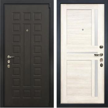 Входная металлическая дверь Лекс 4А Неаполь Mottura Баджио Белёный дуб (панель №47)