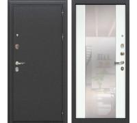 Входная металлическая дверь Лекс Колизей Стиль с Зеркалом Ясень белый (панель №61)