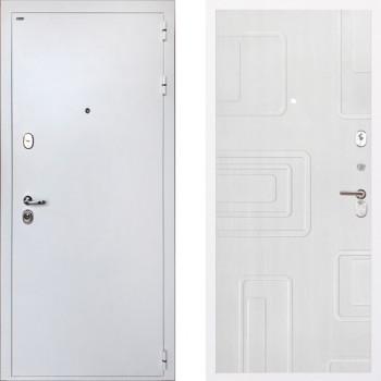 Входная металлическая дверь Интекрон Колизей White Элит Роял Вуд Белый