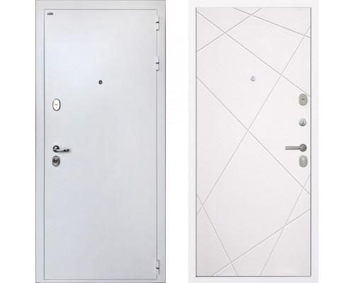 Входная металлическая дверь Интекрон Колизей White Лучи Милк