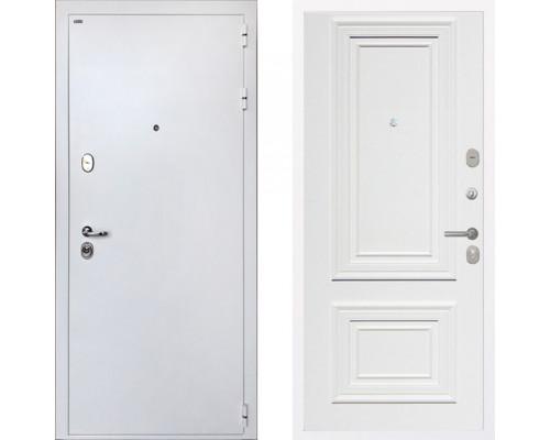 Входная металлическая дверь Интекрон Колизей White Сан Ремо 1 RAL 9003