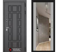 Металлическая дверь Labirint New York с зеркалом Макси Софт Грей