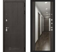 Входная металлическая дверь Labirint Urban Макси Венге зеркало