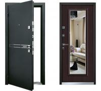 Входная металлическая дверь Mastino Parko Венге зеркало