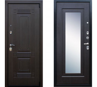 Входная металлическая дверь АСД Викинг Венге зеркало