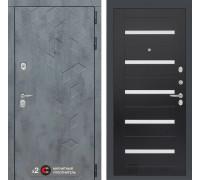 Входная дверь Бетон 01 (цвет Венге)