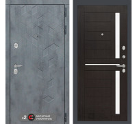 Входная дверь Бетон 02 (цвет Венге)