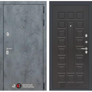 Входная дверь Бетон 04 (цвет Венге