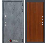 Входная дверь Бетон 05 (цвет Итальянский орех)