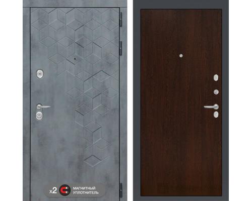 Входная дверь Бетон 05 (цвет Венге)