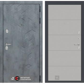 Двери Лабиринт входная дверь Labirint Бетон 13 (цвет Грей софт)