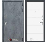 Двери Лабиринт входная дверь Labirint Бетон 13 (цвет Белый софт)