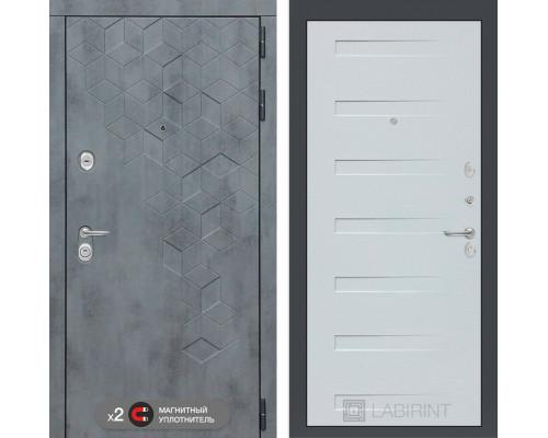 Входная дверь Бетон 14 (цвет Дуб кантри)