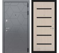Входная дверь labirint COSMO 01 Беленый дуб