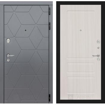 Входная дверь labirint COSMO 03 Сандал белый