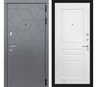 Входная дверь labirint COSMO 03 Белый софт