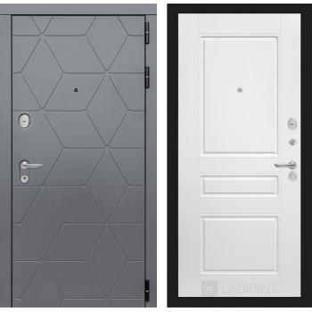 Входная дверь в квартиру labirint COSMO 03 Белый софт