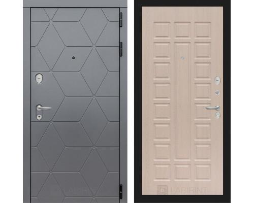 Входная дверь labirint COSMO 04 Беленый дуб