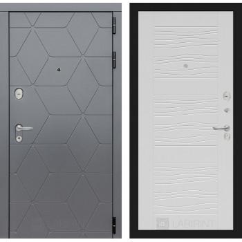 Входная дверь labirint COSMO 06 Белое дерево