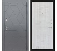 Входная дверь labirint COSMO 06 Сандал белый