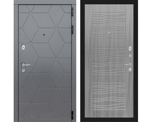 Входная дверь labirint COSMO 06 Сандал серый