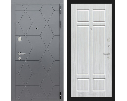 Входная дверь labirint COSMO 08 Кристалл вуд